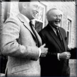 Soviet mole Pierre Trudeau and Soviet espionage agent Lester Pearson