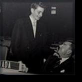 A young Paul Martin (Jr.) with Senior at Model UN
