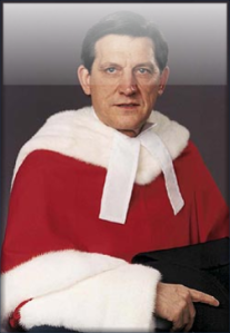 "Mr. Justice Gérard Vincent La Forest -- another of the 1982 coup plotters who got himself a high judicial job under the ""new"" constitution he himself helped to impose on Canada."