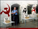 Communist Voting (courtesy of Freaking News.com)