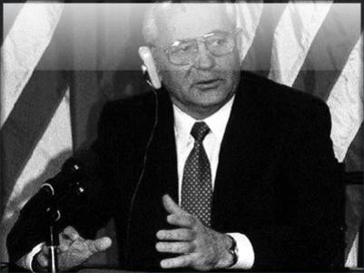 Former Russian leader Mikhail Sergeyevich Gorbachev.
