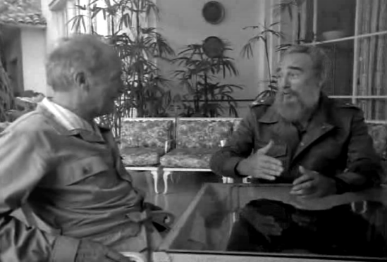Communist Pierre Elliott Trudeau and Communist Dictator Fidel Castro reminisce together for Trudeau's Memoirs