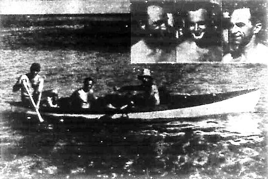 Key West Canoe Stunt 1960
