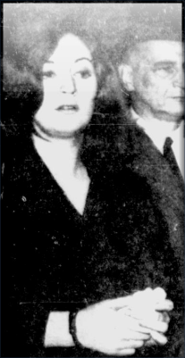 Michèle Duclos (under arrest)