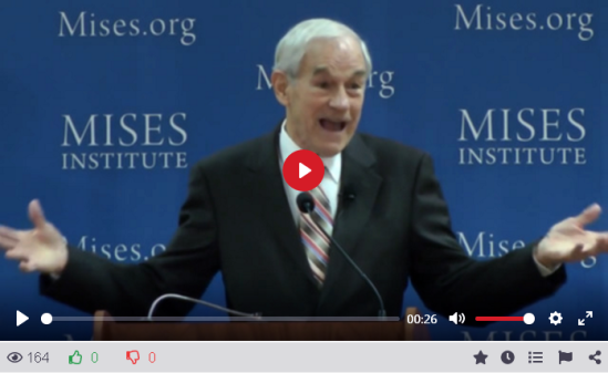 Ron Paul boasts the breakup of the USA is underway